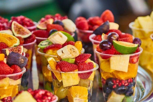 ovocné poháry