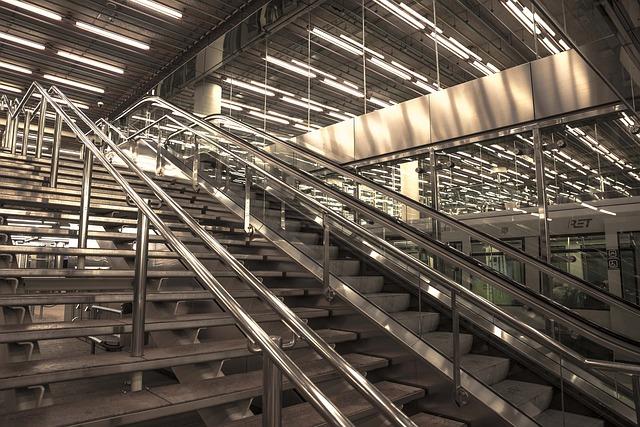 průmyslové schody